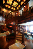 QUEEN VICTORIA Library Spiral Staircase