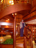 QUEEN VICTORIA Library Staircase