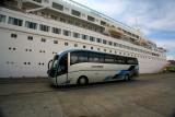BOUDICCA Coach arriving back at the Ship