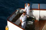 BOUDICCA Officers on the Bridge