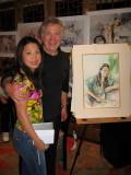 BOUDICCA Teng Teng with Gordon King Painter