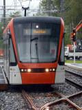 210 Stadler Variobahn @ Nestun Terminus arriving