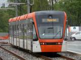 211  Stadler Variobahn Nestun Terminus leaving