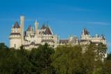 Le chateau de Pierrefonds, Oise