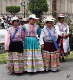 2011_02_03 Plaza de Armas Mujeres Ahorritas de Canocota