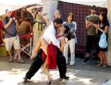 IMG_0754 Tango demonstration at San Telmo Market, Buenos Aires, Jan 15