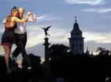 IMG_0776 Tango Dancers of Florida Street with Buenos Aires Skyline, Jan 18