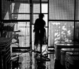 End of the day for a fish market. L1008941-2.jpg