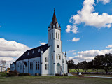 The (Painted) Churches of Fayette County