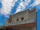 The old Texas Theater,  circa 1912, McGregor , TX