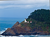 Haceta Head Lighthouse,  OR, View 2