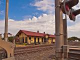 The Davis, OK  Train Station
