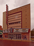 The Hornbeck/Penthouse theater, Shawnee, OK, on eof two in town