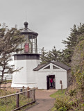 Cape Mears Lighthouse,  OR (an HDR image)