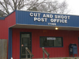 1/25  Cut and Shoot, TX. A great place to visit.