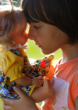 Alessia with her doll: conversation ...