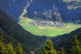 Obertilliach, view from Porze-Hutte