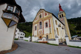 Obertilliach, a cloudy weather (HDR)