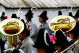 Obertilliach: reflections (religious procession 15th Aug)
