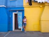 trip in Burano island