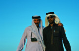 Emanuel Lowi on left (photo by Hamdan)