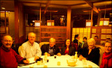 l to r  Tom Abrahamsson, Henning Wulff, Ted Grant, Tanya Wulff, Irene Grant, Tuulikki Abrahamsson
