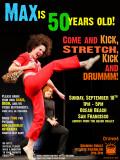 Max's 50th Birthday Beach Drumming Bash!  9/18/11
