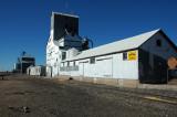 Arriba, CO grain elevators.