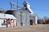 Deer Trail, CO old grain elevator.