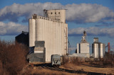 Flagler, CO grain elevators.