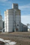 Flagler, CO old grain elevator.