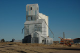 Paoli, CO old grain elevator.