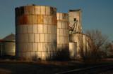 Dailey, CO old grain elevator.