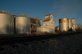 Dailey, CO grain elevators.