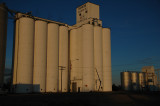 Fleming, CO grain elevators.