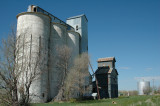 Willard, CO old grain elevators.