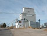 Yuma, CO old grain elevator.