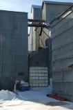 Holyoke, CO old grain elevators.