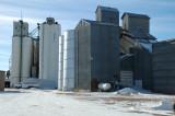 Holyoke, CO grain elevators.