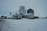 Briggsdale, CO old grain elevator.