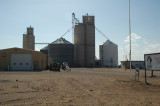 Hough, OK grain elevators.