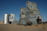 Boise City, OK old grain elevators.
