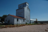 Wellington, CO old grain elevator.