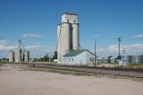 Nunn, CO old grain elevators.
