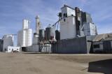 Wiggins, CO grain elevators.