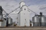 Akron, CO old grain elevator.