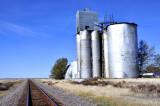 Kit Carson, CO old grain elevator.