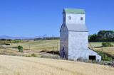 France, ID old grain elevator.