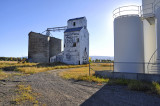 Idaho grain elevators.