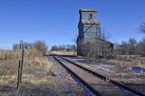 Dickens, NE old grain elevator.